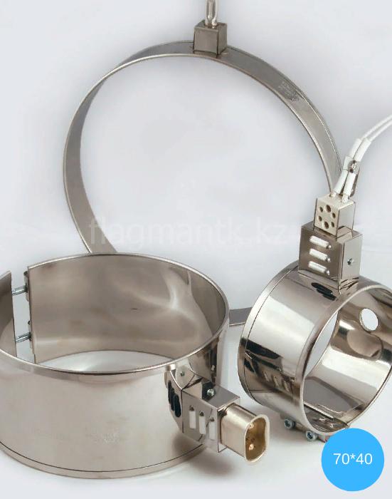 Нагреватель миканитовый кольцевой (ТЭН 70*40)