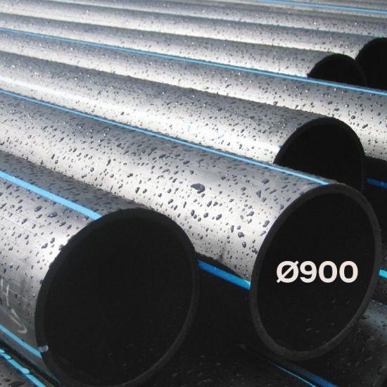 ТРУБА ПОЛИЭТИЛЕНОВАЯ ВОДОПРОВОДНАЯ НАПОРНАЯ Ø-900 SDR от 41 до 13,6