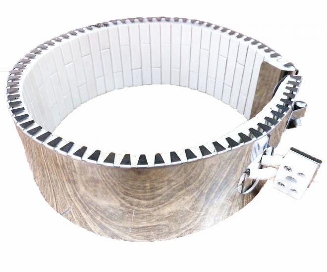Хомутовый керамический нагреватель