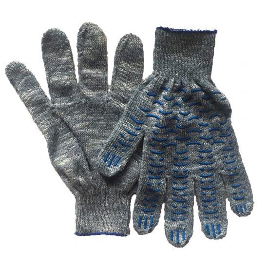 Перчатки Х/Б, 5 нитей, ПВХ покрытие